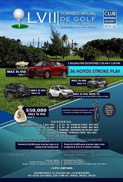 LVII Torneo Anual de Golf