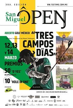 3era Edicion San Miguel Open
